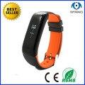Elegante original pulsera de la pulsera p1 gimnasio rastreador monitor de presión arterial monitor de ritmo cardíaco smartband pk xiaomi mi banda 2