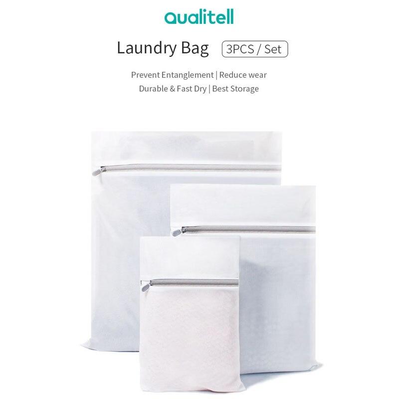 3PCS / Set Laundry Bag Women Bra Underwear Laundry Bag Protect Wear Wash Clothes Washing Machine Protection Net Hosiery Saver