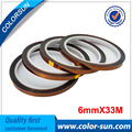 10Pcs 6mm-16mm 3D Sublimation transfer tape Heat resistant for Kapton tape Heat-press machine