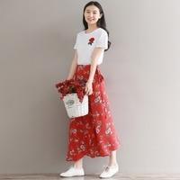 Summer fashion women dài dress voan slim bindk over-the-hoa đầu gối trắng trang trí hoa văn dresses red màu xanh lá cây 9818