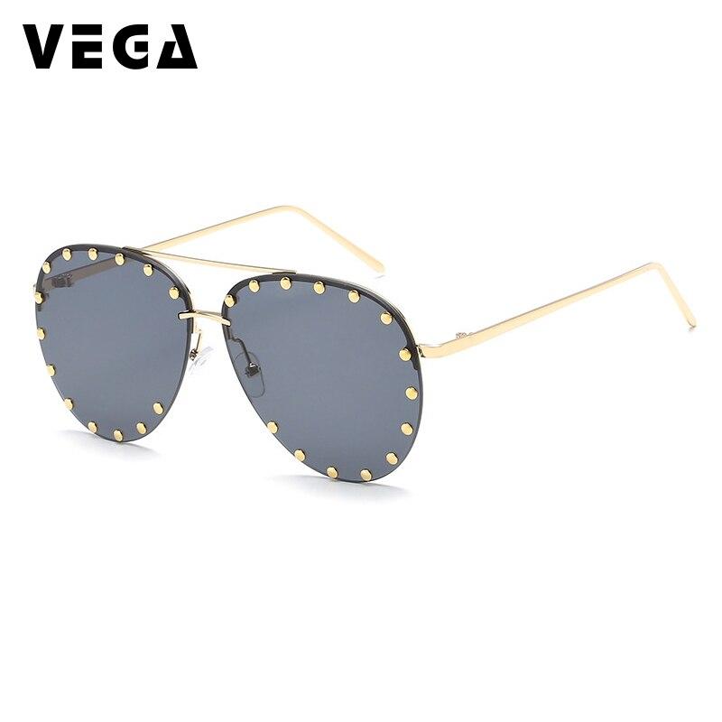 VEGA Eyewear UV400 HD Vision Pilot Sunglassess