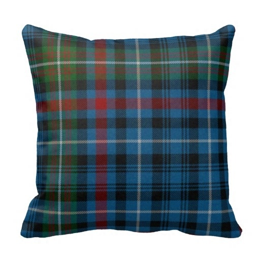 Active Traditional Macdonald font b Tartan b font Plaid Pillow Case Size 45x45cm Free Shipping