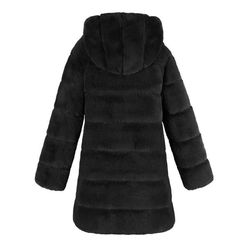 Zipper Winter Coat Women 2018 Sleeveless Fur Cashmere Hoodie Coat Girl Warm Pullover Thick Coat femenino #N28 (1)