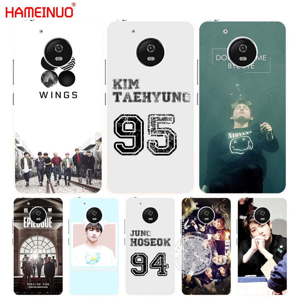 HAMEINUO bts bangtan boys V Kim Tae Hyung case cover for Motorola Moto G6 G5 G5S G4 PLAY PLUS ZUK Z2 pro
