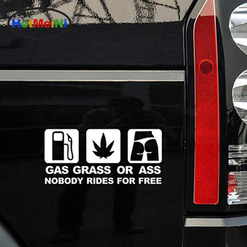 HotMeiNi 16 * 7.5 CM Car Styling GASS GRASS ASS JDM Զվարճալի - Ավտոմեքենայի արտաքին պարագաներ - Լուսանկար 2