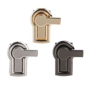 1 pc DIY Metal Clasp Turn Lock