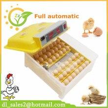 Горячая распродажа! ZZ48 яйцо автоматического инкубатор для птиц Турции Гусь утка и так далее Высокая скорость штриховка светодиодный дисплей
