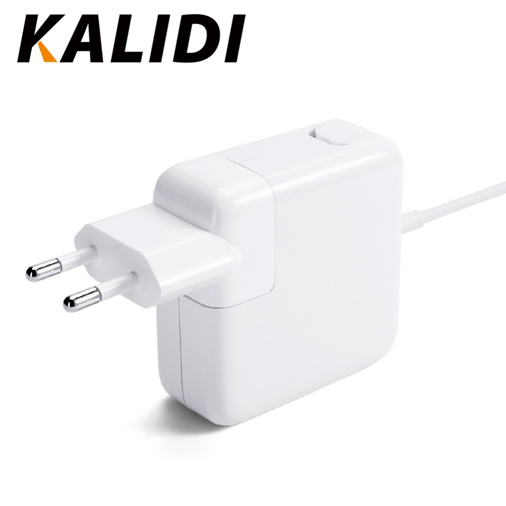 KALIDI 45W 14.8V 3.1A Magsaf L-tip Adapter Power for Apple Macbook Air 11 13 Inch A1374 A1244 A1370 A1304 Macbook Adapter Power