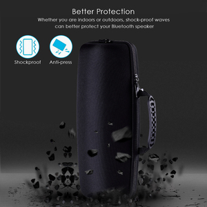 Image 3 - 2019 Portable EVA Hard Carrying Pouch Cover Bag Storage Case for JBL Xtreme2/ Xtreme 2 Bluetooth Speaker Extra Space With Belt