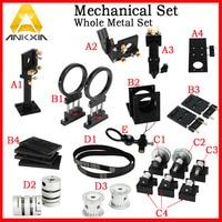 Co2 Laser Machine Mechanical Parts DIY Kit Components Metal Parts Transmission Laser Head
