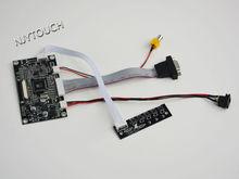 VGA AV LCD Controller Board KYV-N2 V6 for 5″ ZJ050NA-08C 50 Pin 640X480 LED TTL Parallel RGB 1ch 8-bit 50 pins ZJ050NA 08C
