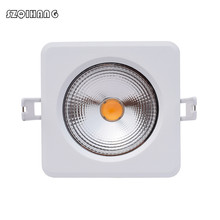 IP65 Waterproof Dimmable12W/15W Ceiling Recessed LED Spot Light Downlight For Bathroom Shower room Sauna