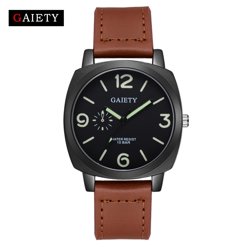 Gaiety Luxury Brands Watch Men Casual Analog Military Sports Watch Quartz Watch Male Fashion Business Vintage Wristwatches свадебное платье wedding dress v vestido noiva w1201