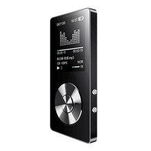 Оригинальный металлический MP3-плеер Портативный цифровой аудиоплеер с 1.8 дюймов Экран FM Электронная книга часы данных музыкальный плеер спикер TF карты