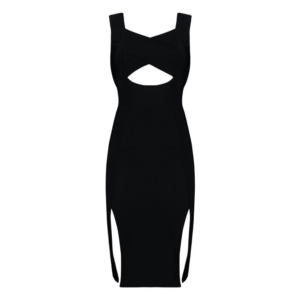 Gaine Sexy Soirée Robe Femmes Party Club Celebrity Courroie Robes De Noir D'été Date Bandage xHPz6n4xq