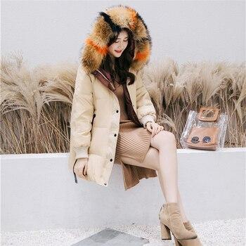 Parka women 2018 winter hooded warm female ladies coats woman winter 2019 outerwear windbreaker woman winter coats 2018 KK2683 X