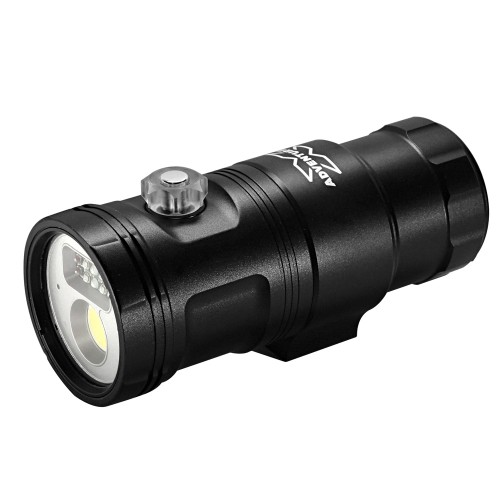 X-Adventurer M3000-WRUA 3in1 Smart Fuoco Luce Video (larghezza luce + luce Rossa + luce UV con Auto Flash-Off)