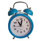 Portable Fashion Classic Silent Double Bell Alarm Clock Quartz Movement Bedside Night Light Best Quality