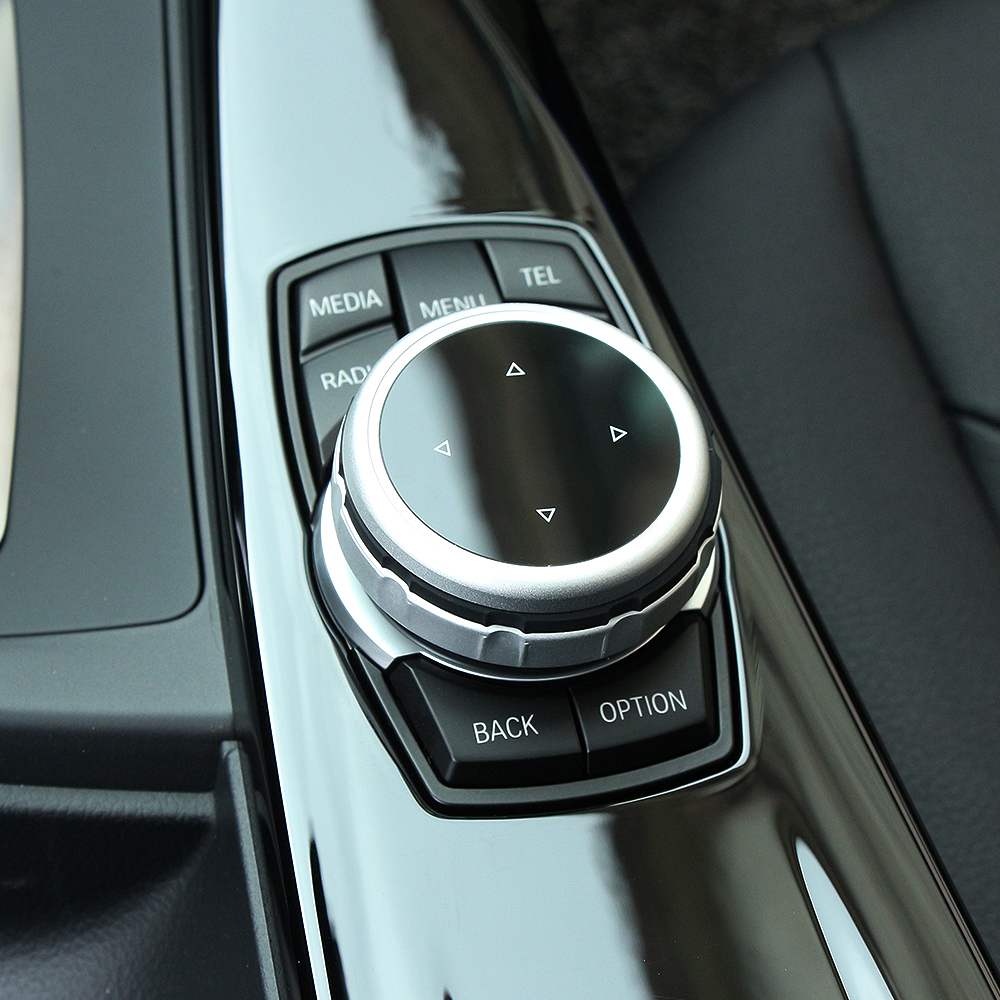 Car Multimedia Driver Button Covers Stickers For Bmw 3 5 Series X1