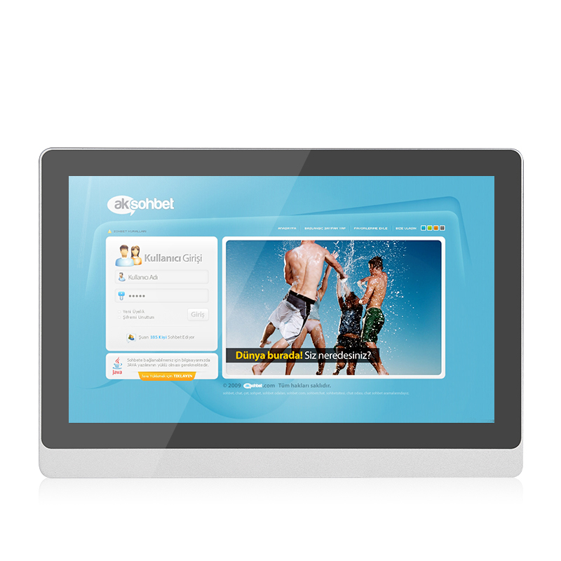 Capacitive Touch Industrial PC Intel J1900 All In One 17.3 Inch Win 10 IP65 Waterproof Tablet For Medical Computer