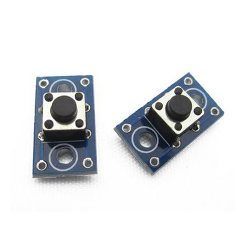 10pcs Button module mini button switch light touch module 4pins button module for flashlight and electric equipment