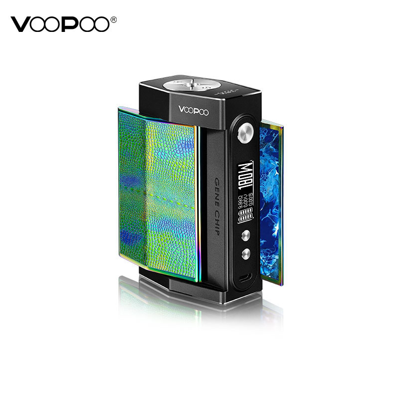 Original Voopoo Too Box Mod 180W Vape Mod With GENE Chip & 10ms Firing Speed & SOFT Mode for High Wattage No 18650 Battery Vapor