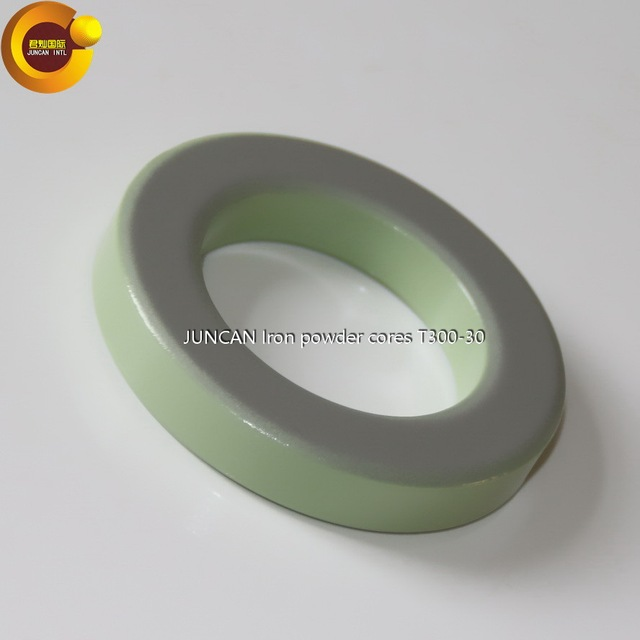 T300-30 High frequency radio frequency (rf) iron powder cores, magnetic ring magnetic core inductance coil