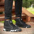 Men High Top Shoes Winter Warm Mens Trainers Breathable Flats Walking Shoes zapatillas hombre tenis masculino shoes