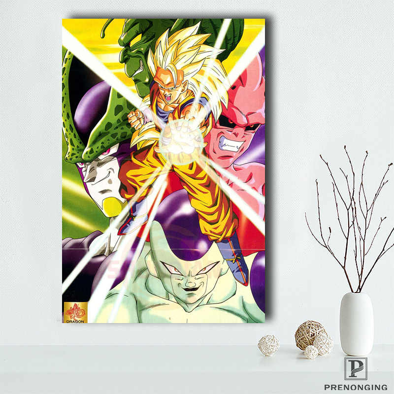 Removível Mural Home Decor Poster es Top Venda De Dragon Ball Z Goku Anime Cartaz #190114s07