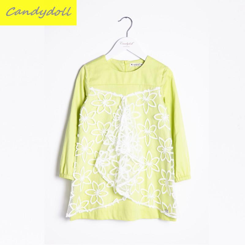 New arrival Spring/Autumn Children's Dress Girl Long Sleeve Lace Dress  Party Dresses Girl  Girls Clothes 5-10Y new arrival spring autumn children s dress girl long sleeve lace dress party dresses girl girls clothes 5 10y