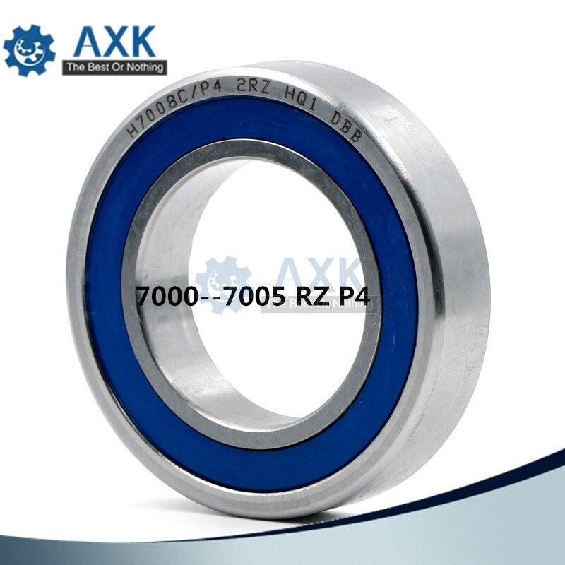 Livraison gratuite haute précision à contact oblique roulement machine de gravure portant un seul 7000 7001 7002 7003 7004 7005 2RZP4