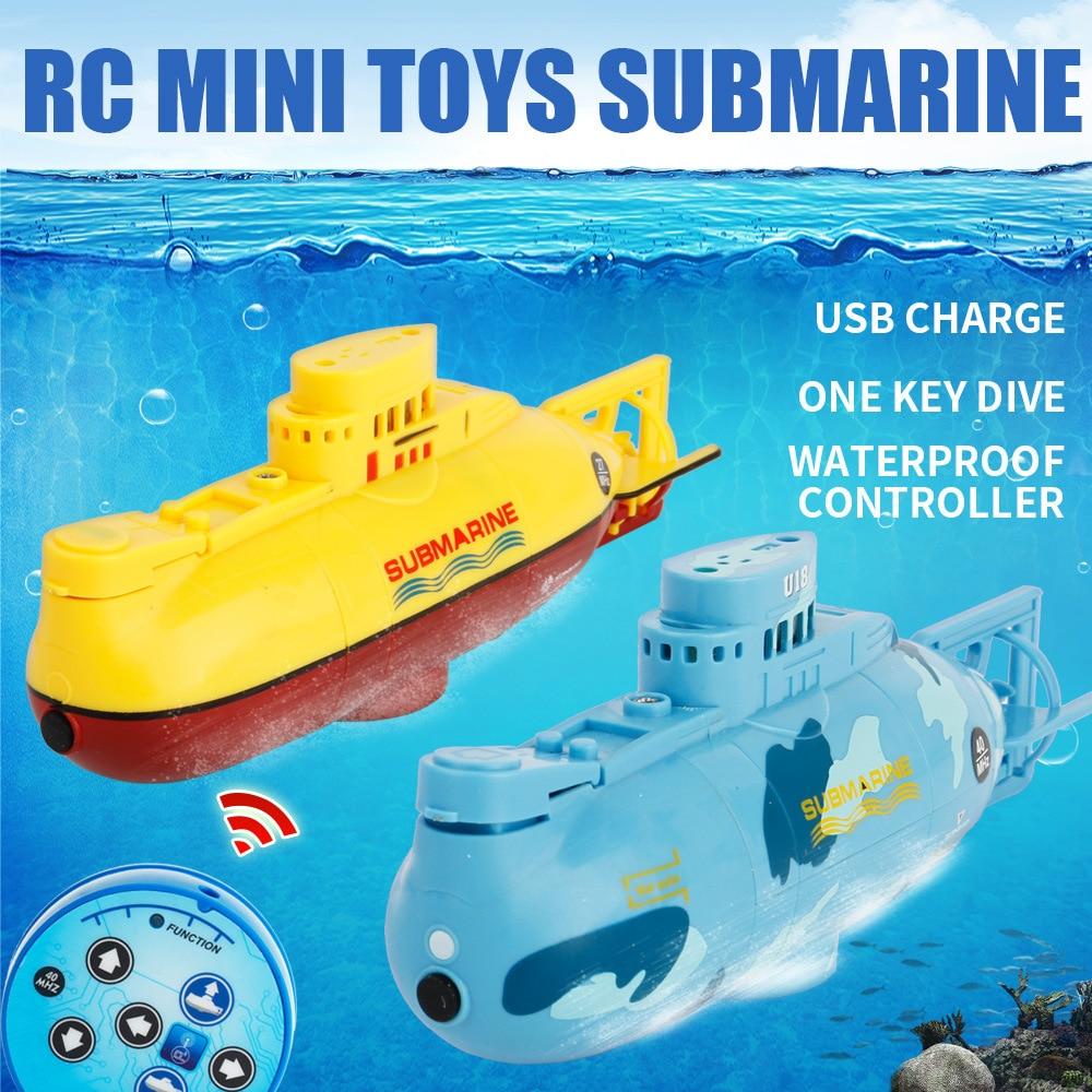 Eva2king Hot Selling Mini Rc Submarine Toys Remote Control