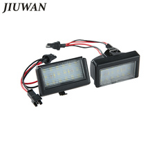 1 Set Car Styling Error Free LED License Plate Light Lamp White Chips Tail For Benz ML W164 X164X licens