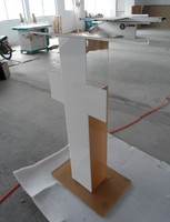 The platform podium Acrylic Crystal fashion promotion The reception desk the speaker's podium Welcome lectern lectern