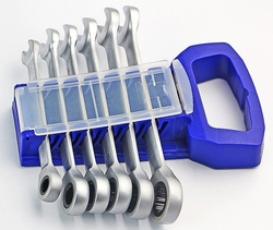6 pieces of 8 17mm fast ratchet dual purpose wrench set sub light crv72 gear wheel.jpg 250x250