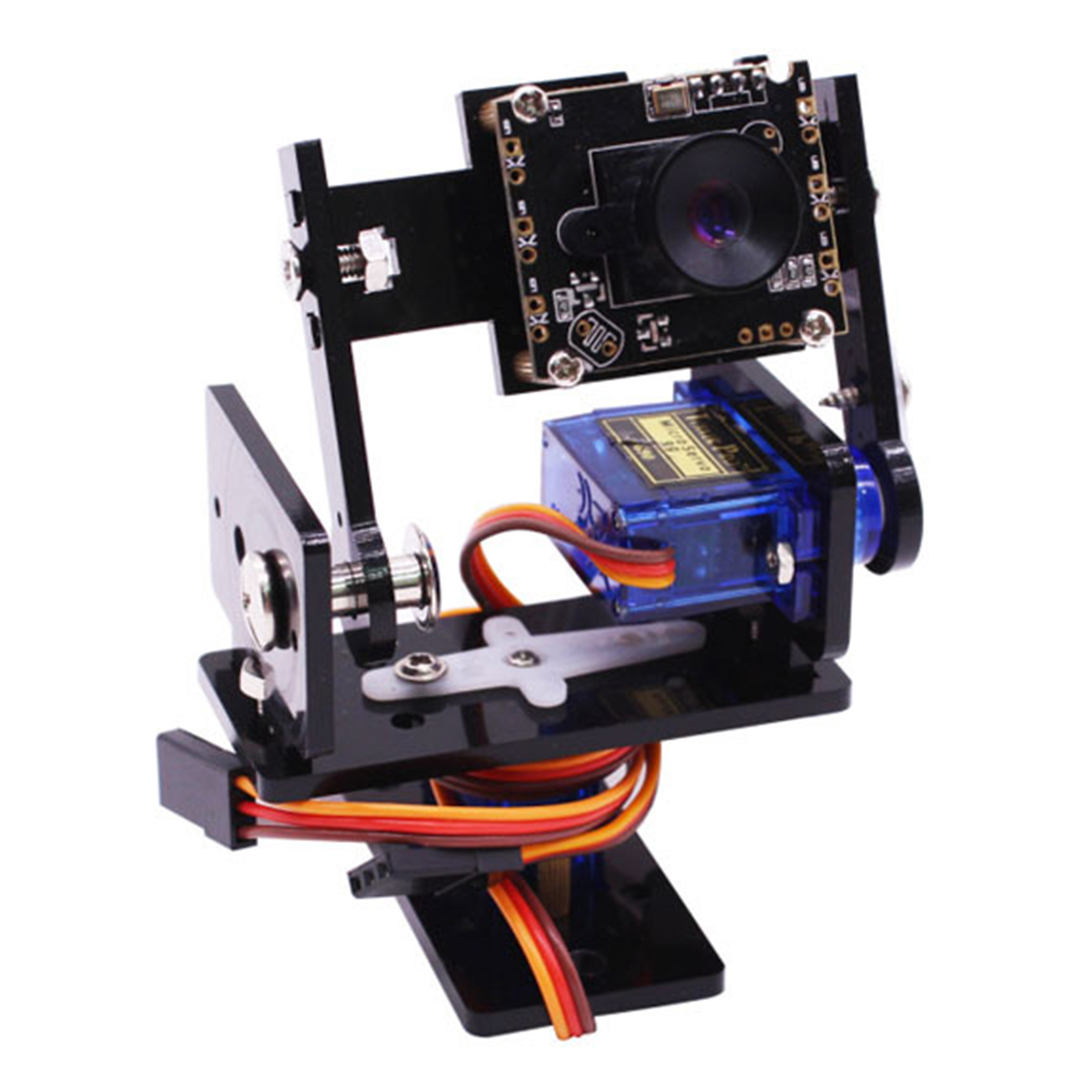 Hot DealsCamera-Module Servos Robot Pan-Tilt-Kit Smart-Vision-Sensor Raspberry Micro with 2pcs