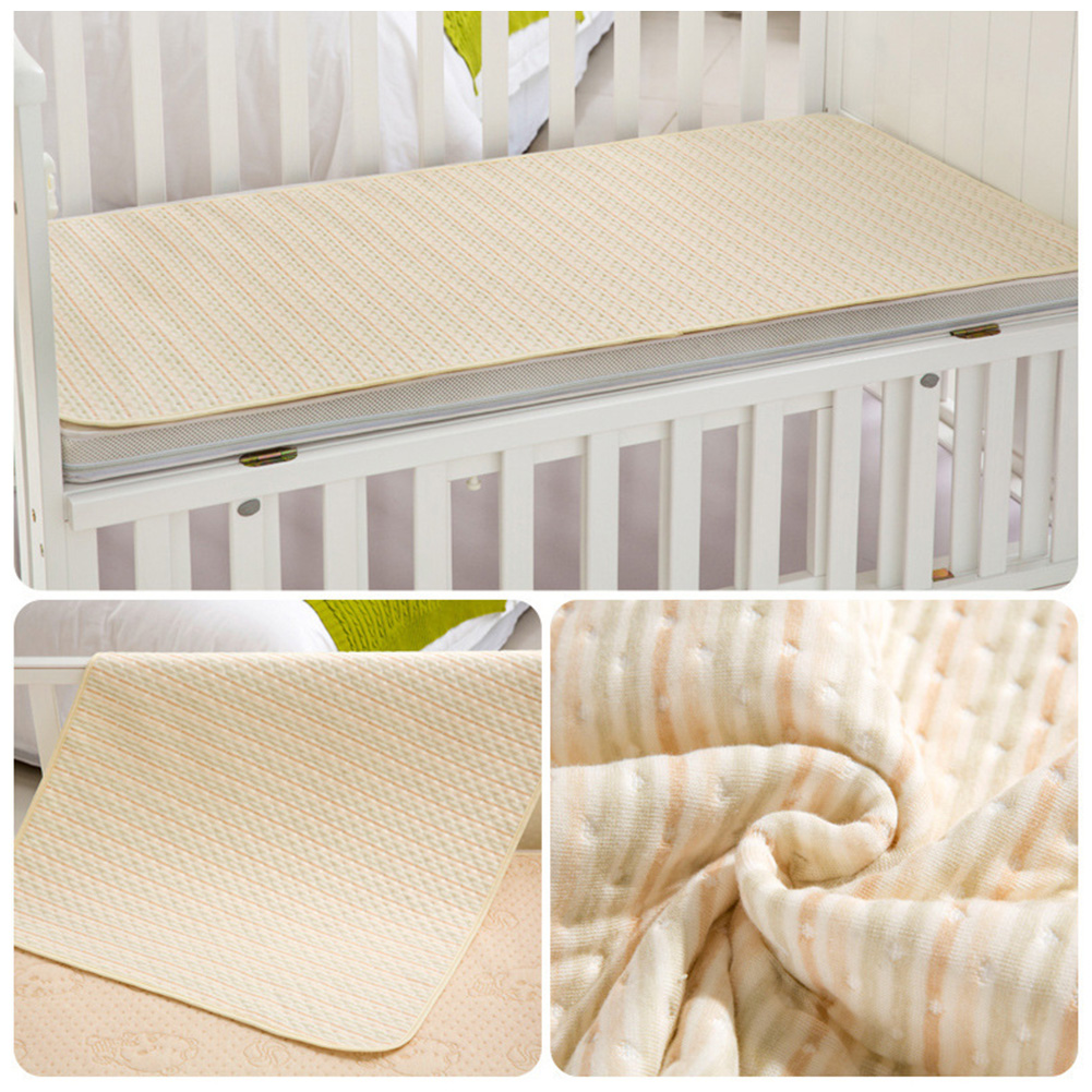 2019 New Cotton Waterproof Bed Sheet Incontinence Pad Mattress Protector For Toddler Adult