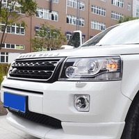 2011 2015 Chrome Front Light Cover For LR Freelander 2 Exterior Accessories