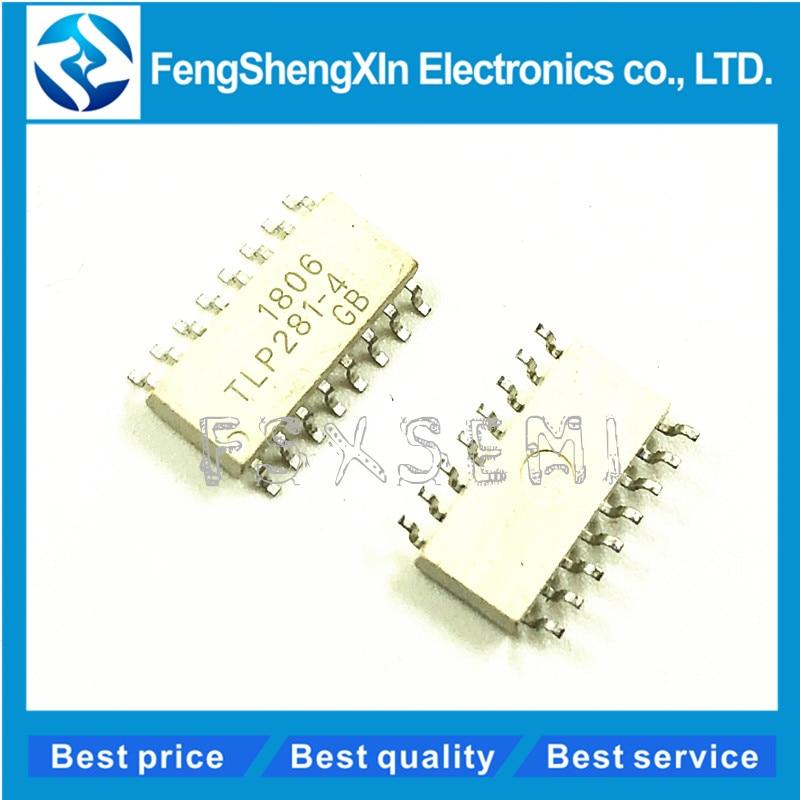 16 PHOTOCOUPLER 5 PCS TLP281-4GB SMD-16 TLP281-4 TLP281 SOP