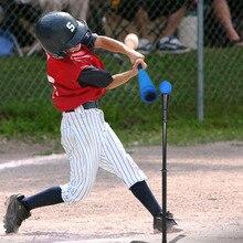 Бейсбол Bat установить безопасное T мяч пены Летучая мышь и софтбол Набор для обучения детей практика Молодежи Ватин тренер Kid Игрушка