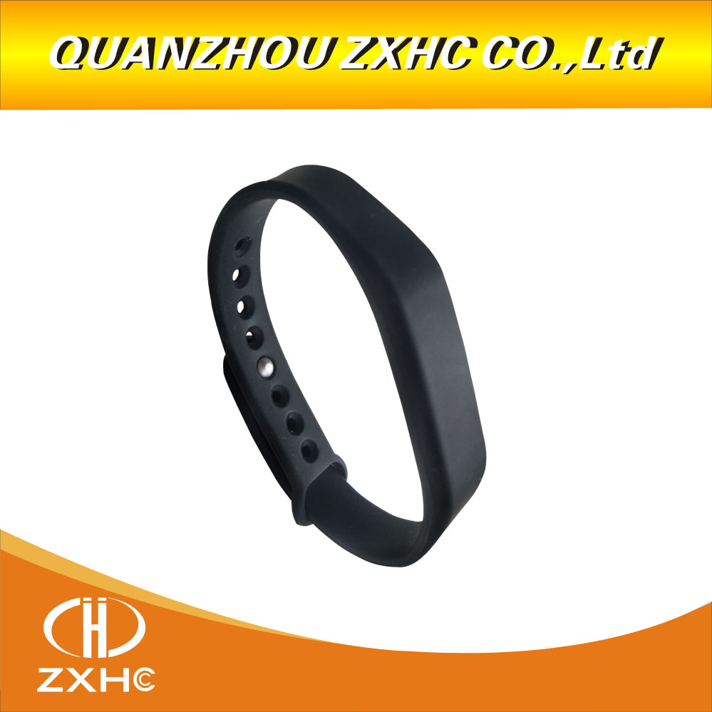 (1pcs/lot)Adjustable Silicone Waterproof RFID Block Sector 0 M1 S50 UID Changeable Wristband Bracelet UID Chip Tags