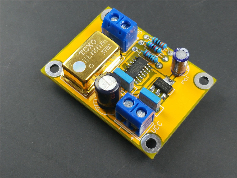 Vanguard TCXO 0.1ppm 24.576MHz Ultra precision Golden Oscillator