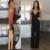 2017 Mulheres Da Moda Sexy lady 3 Cores Com Decote Em V Sem Mangas Soltas Calças Cinta Sexy Lady Evening Cocktail Party Longo Macacão Rompe