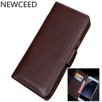 Genuine Real Leather Wallet Card Slot Holder Flip Case For Huawei P Smart Z/Huawei Y9 Prime 2019 Wallet Phone Case Funda Coque
