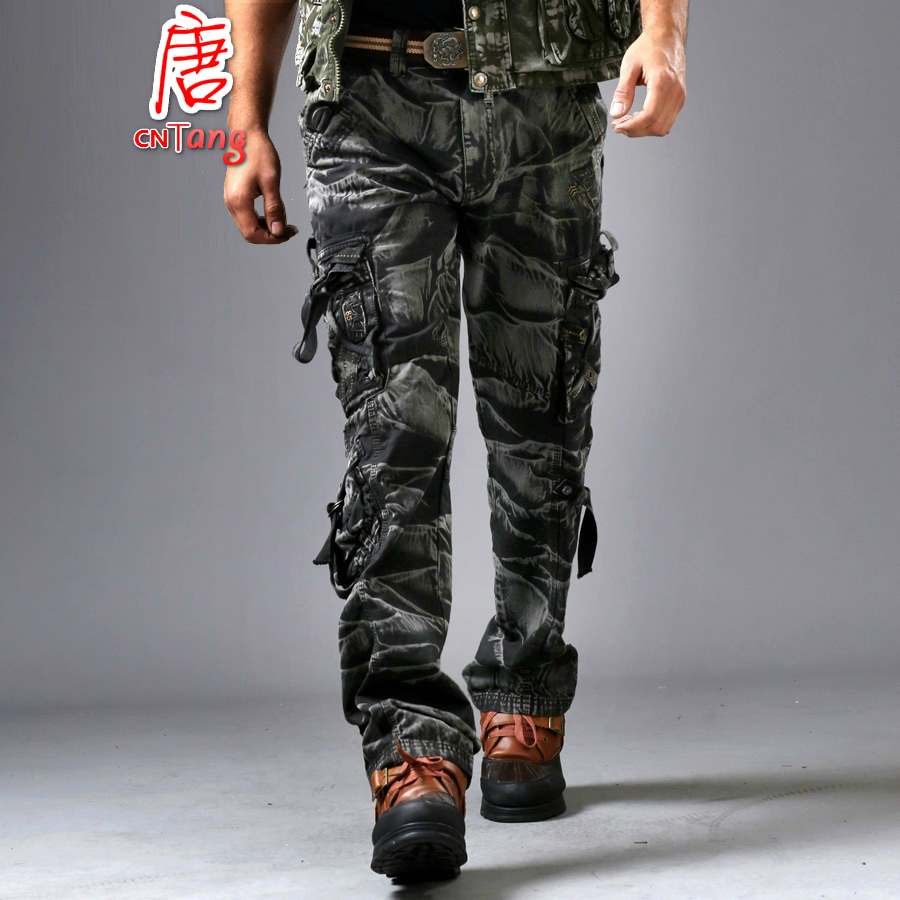 mens army fatigue cargo pants