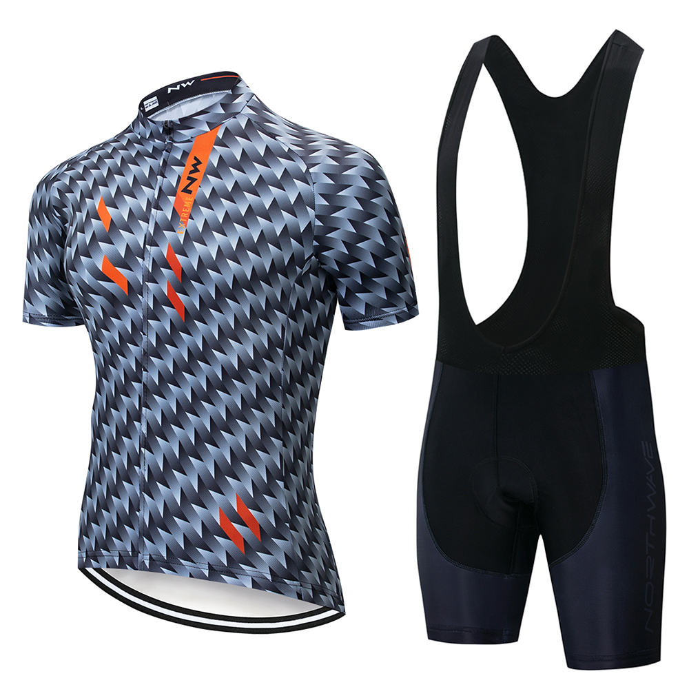 <font><b>Northwave</b></font> <font><b>NW</b></font> <font><b>2019</b></font> Cycling jersey Set Summer Bicycle Clothing Maillot Ropa Ciclismo MTB Bike Clothes Sportswear Suit Cycling image