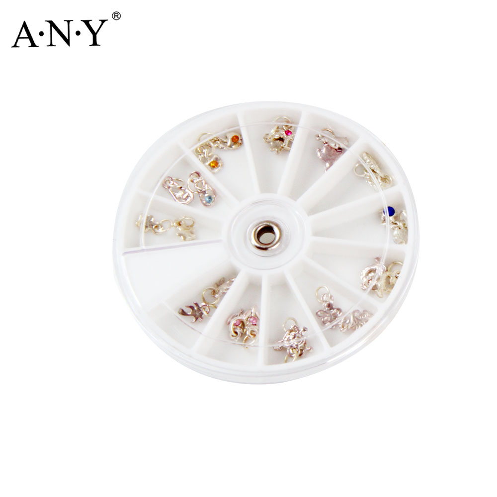 ANY Acrylic Diamond/Dot/Fruits/Multilateral diamond Shapes Rhinestones  Nails Art Accessories Nail Glitter Gems Nail Tips