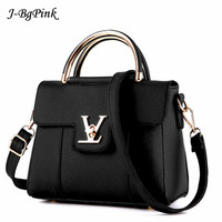 2017 Brand Fashion Fur Women Bag Handbags Women Famous Designer Women Leather Handbags Luxury Ladies Hand
