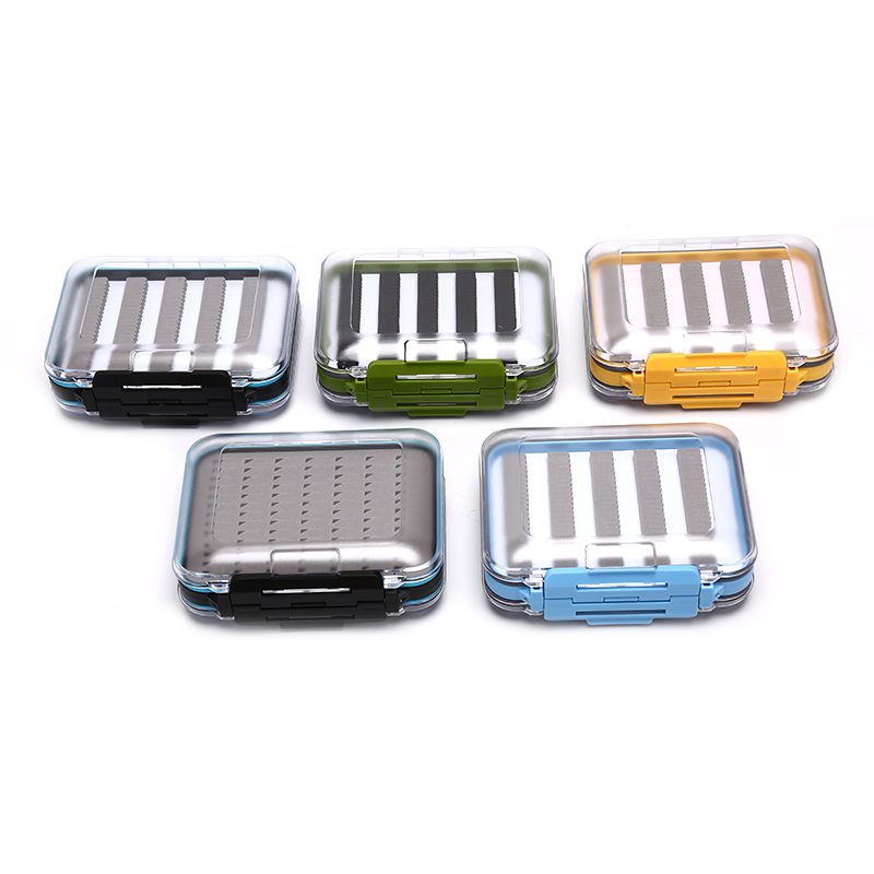 Waterproof Plastic Tackle Box Fly Fishing Box Transparent Fly Box Maximumcatch(China)