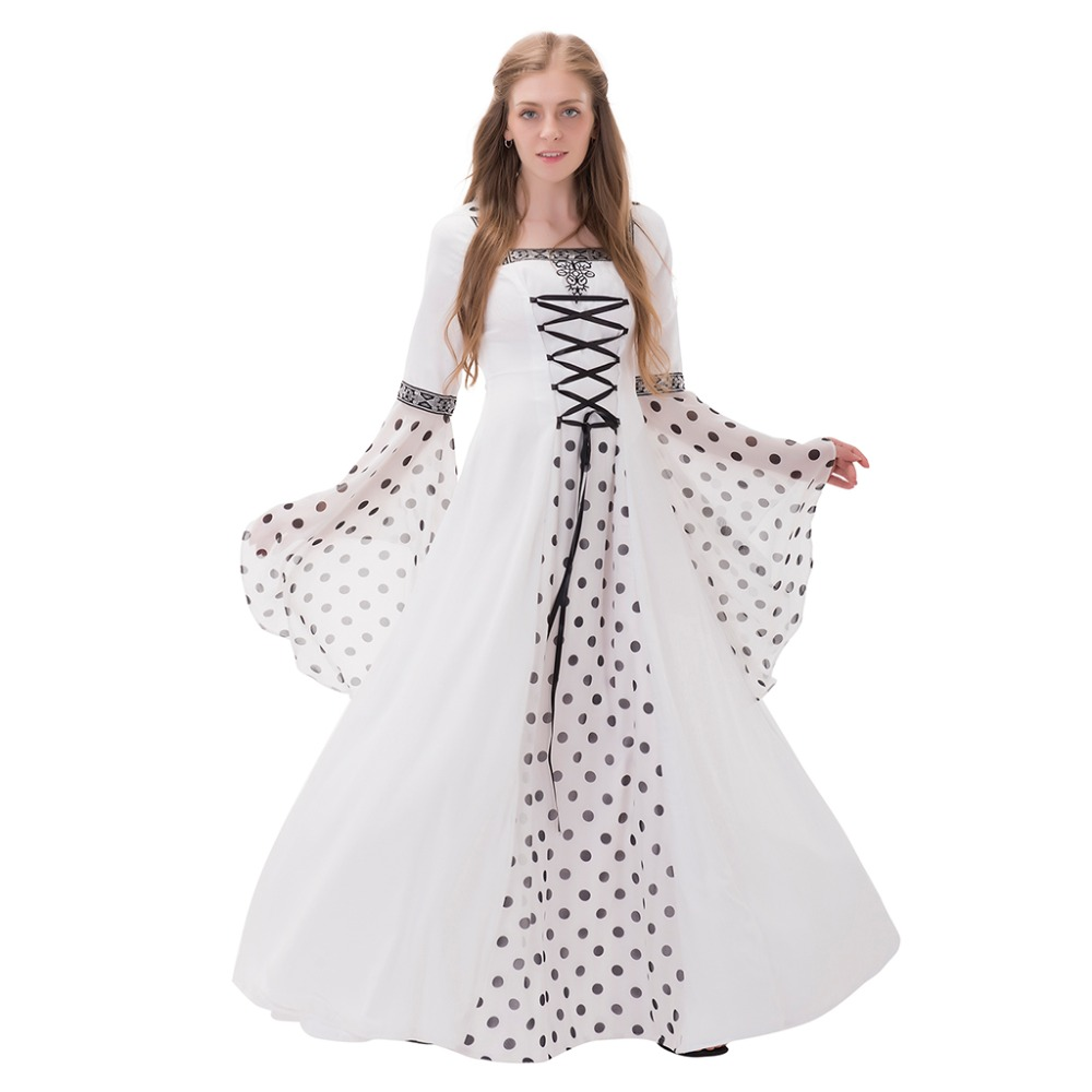 Masquerade Ball Dress Medieval Wedding Ball Gown Romantic Gothic ...